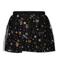 Picture of Moschino MDJ012 baby skirt black