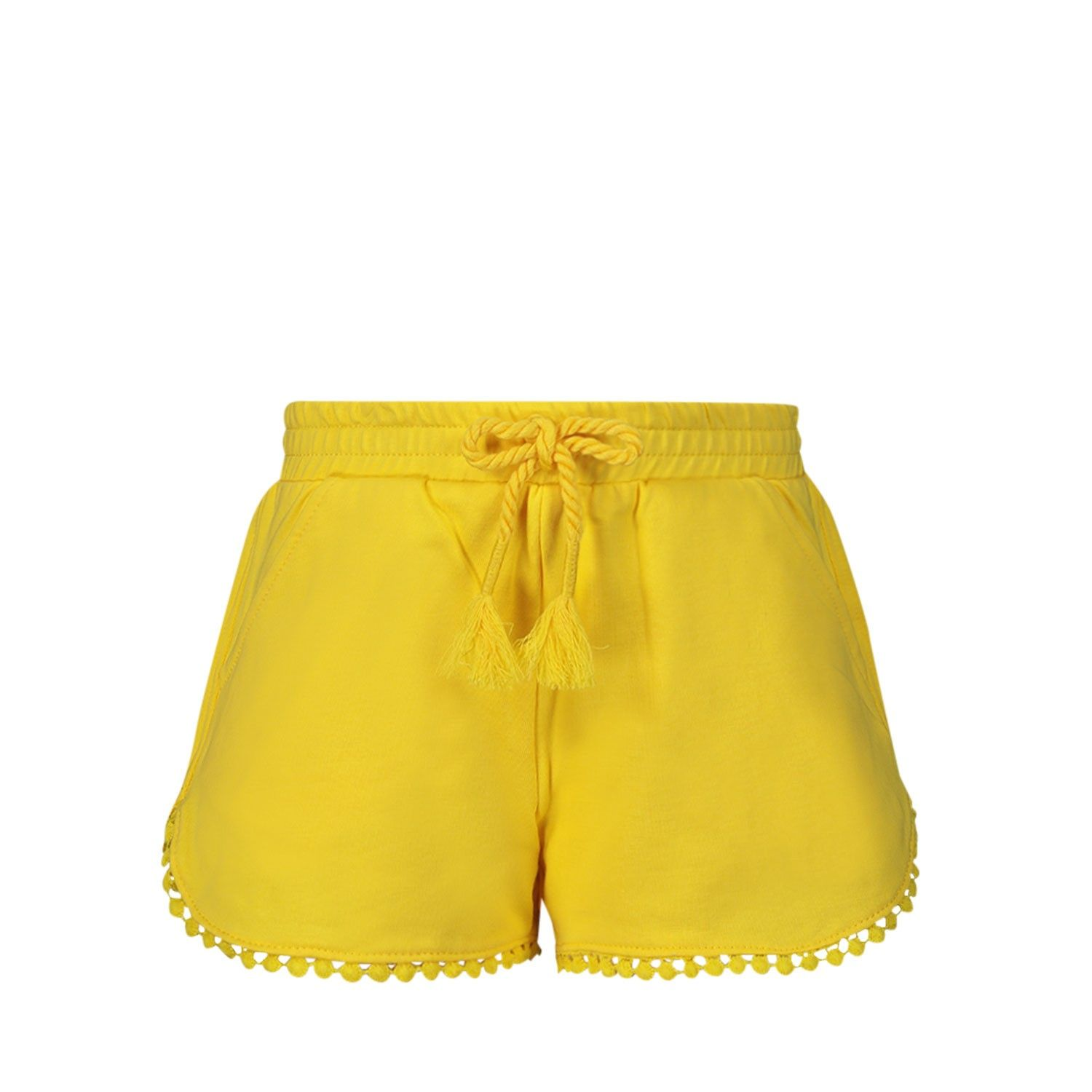 Picture of Mayoral 607 kids shorts yellow