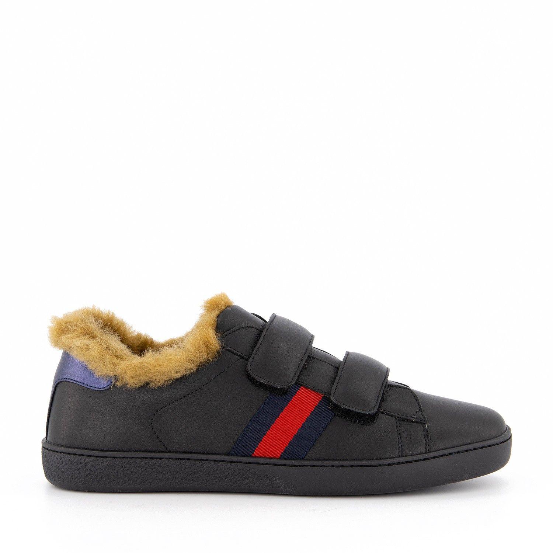 Afbeelding van Gucci 526163 kindersneakers zwart