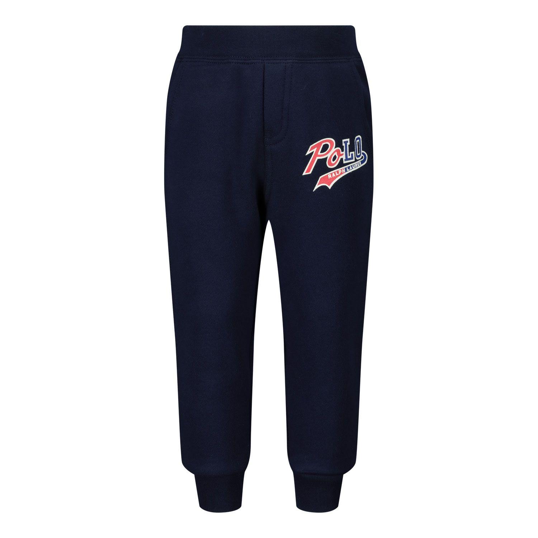 Picture of Ralph Lauren 320804905 baby pants navy