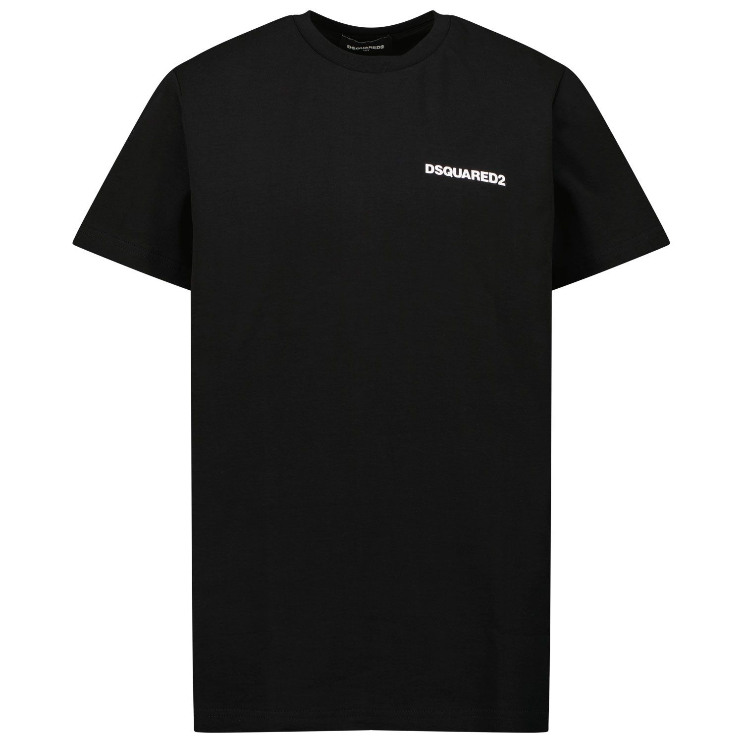 Picture of Dsquared2 DQ0624 kids t-shirt black