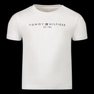 Afbeelding van Tommy Hilfiger KN0KN01293 baby t-shirt wit