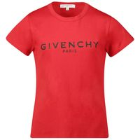 Picture of Givenchy H15H87 kids t-shirt red