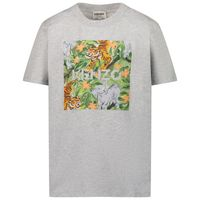 Picture of Kenzo K25101 kids t-shirt light gray