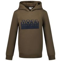 Picture of Boss J25L97 kids sweater army
