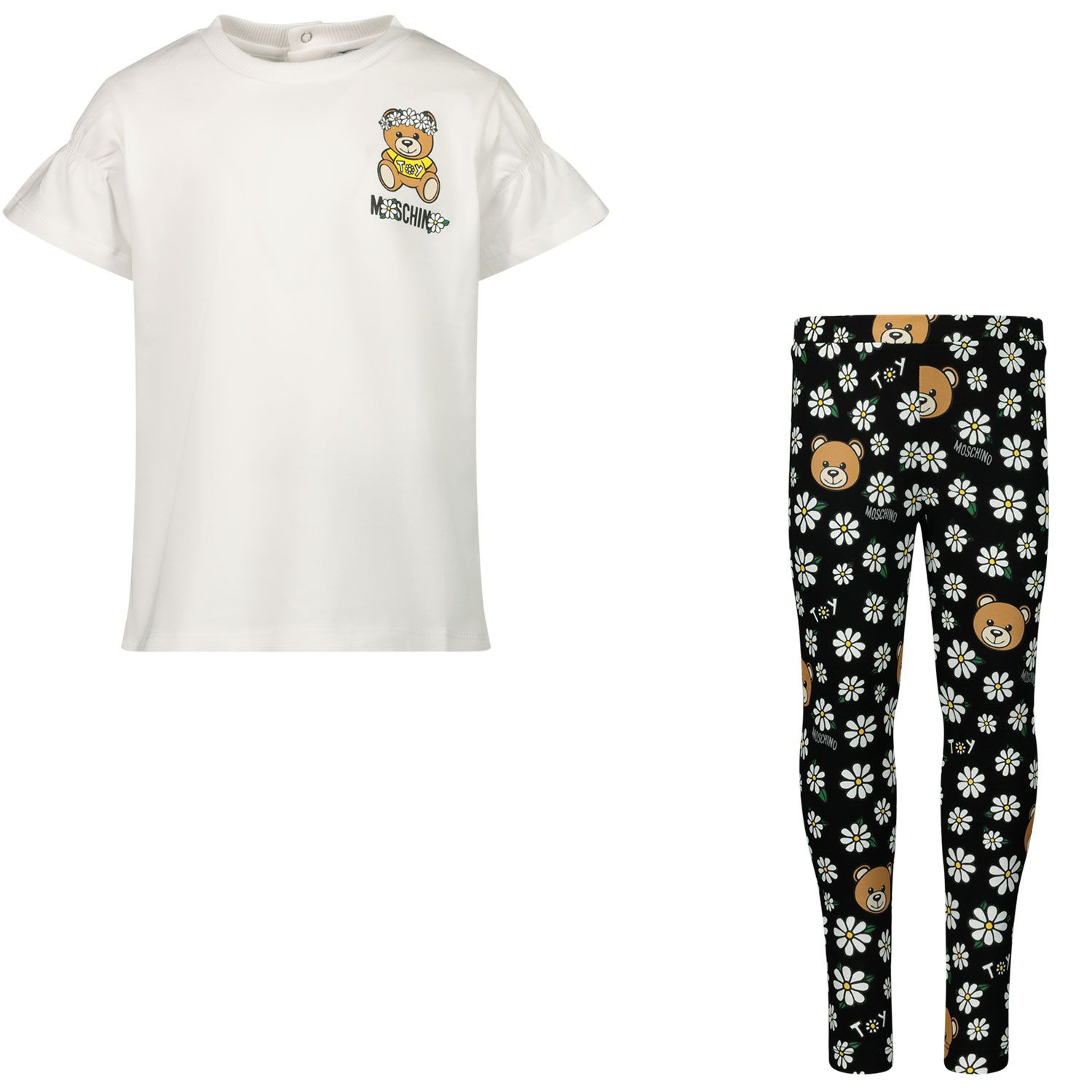 Picture of Moschino MDG00D baby set black