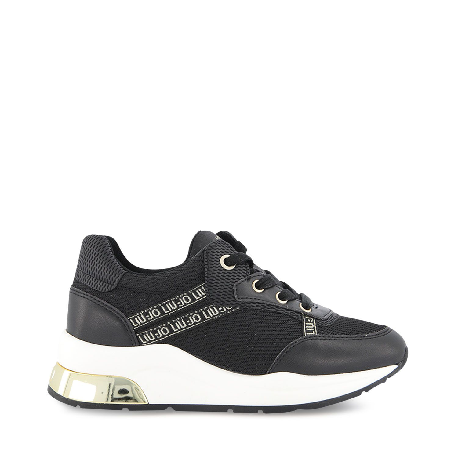Picture of Liu Jo 4A1731 kids sneakers black