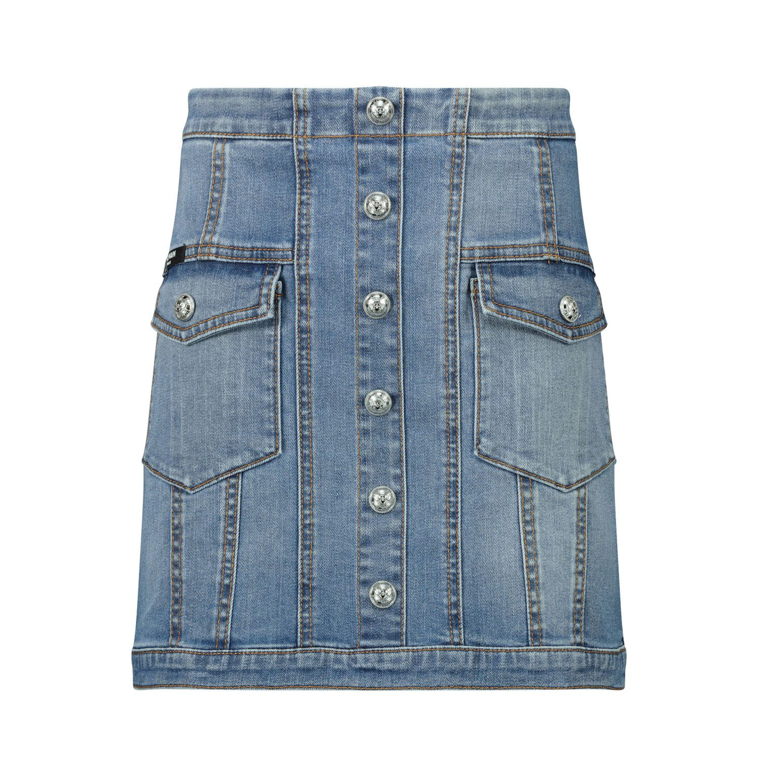 Picture of Balmain 6N7040 kids skirt jeans