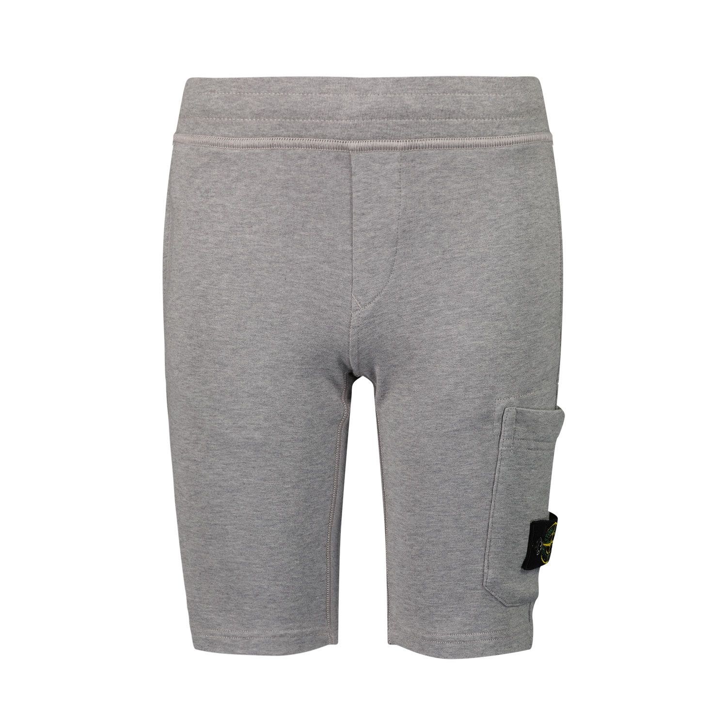 Picture of Stone Island 61840 kids shorts grey