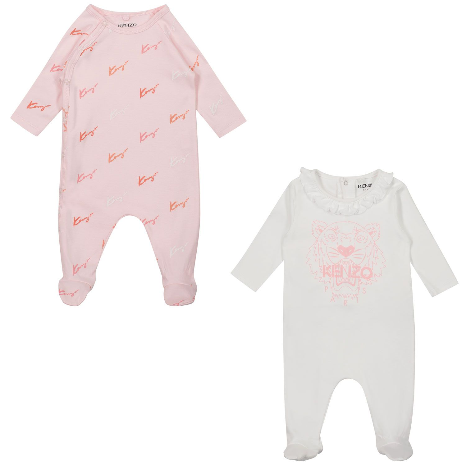 Picture of Kenzo K90005 baby playsuit light pink