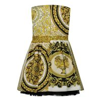Picture of Versace 1000357 baby dress gold
