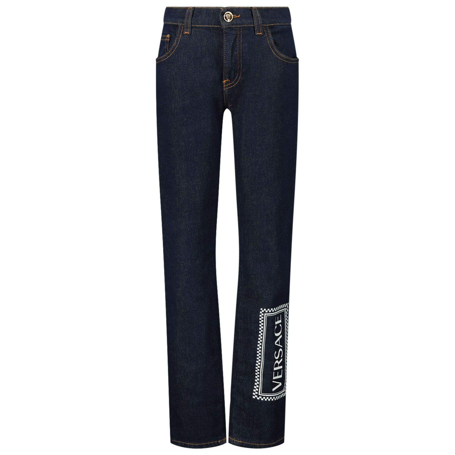 Picture of Versace YD000245 kids jeans