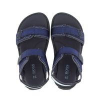 Picture of Boss J09153 kids sandals navy