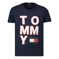 Picture of Tommy Hilfiger KB0KB05428 baby shirt navy