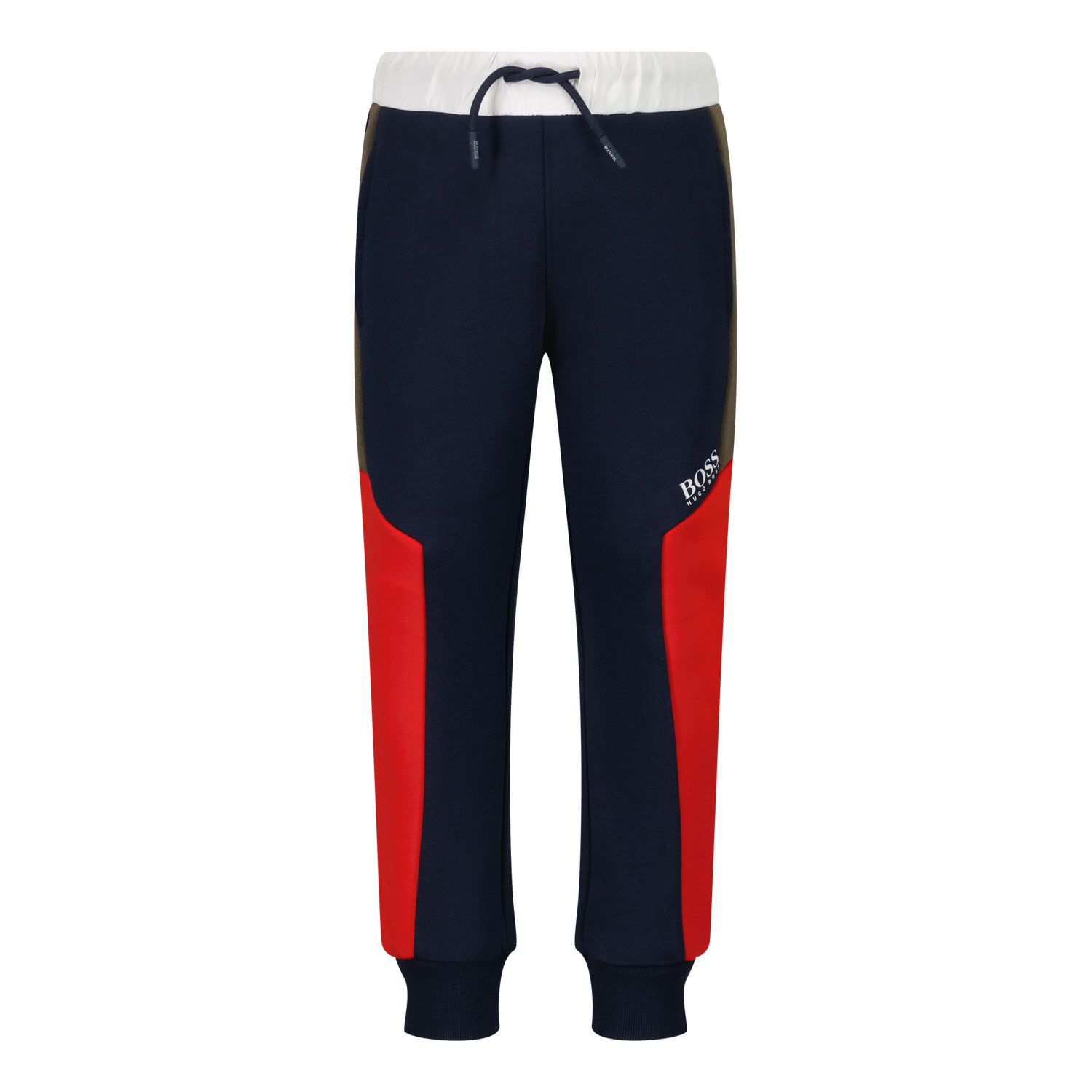 Picture of Boss J04420 baby pants navy