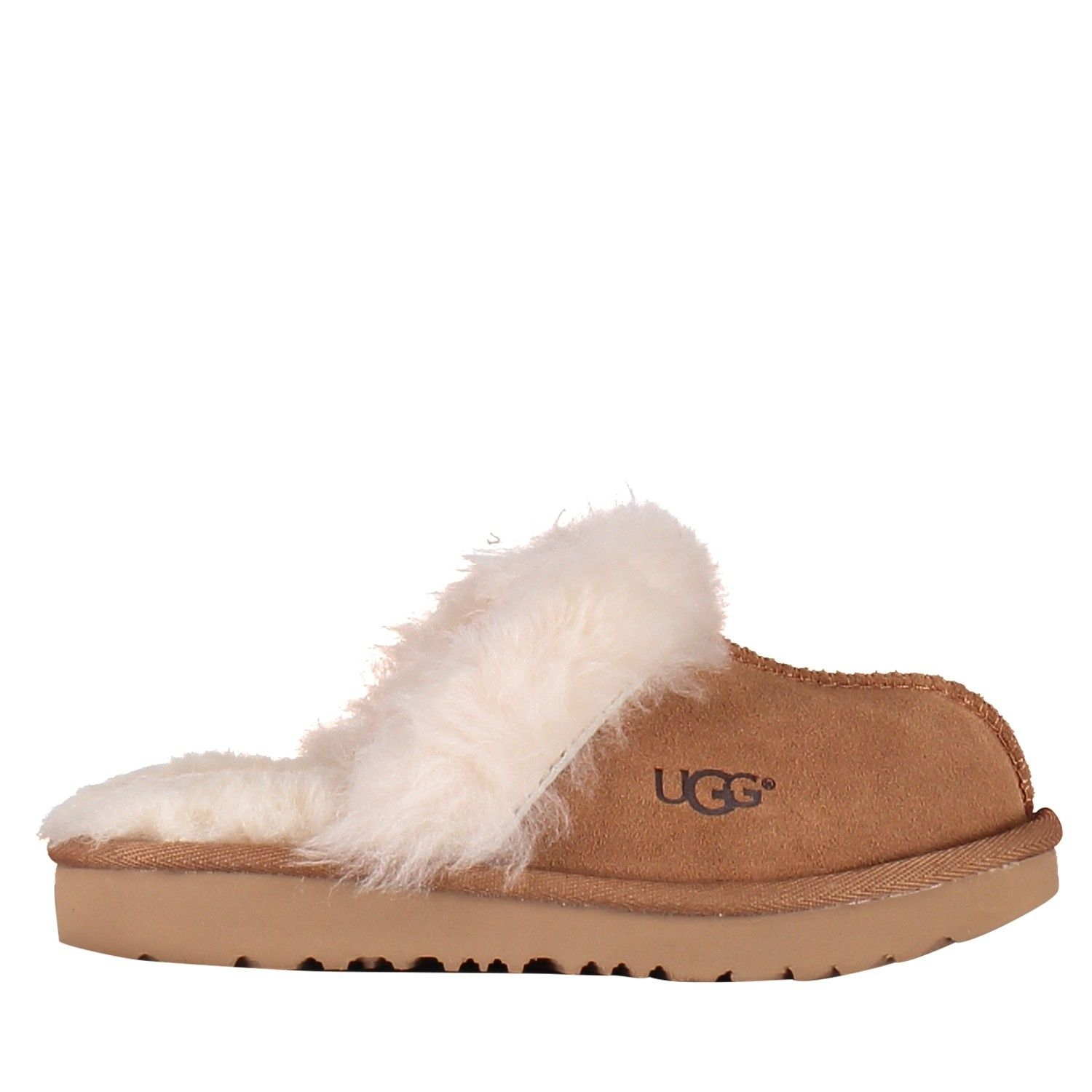 Picture of UGG 1019065K kids slippers camel