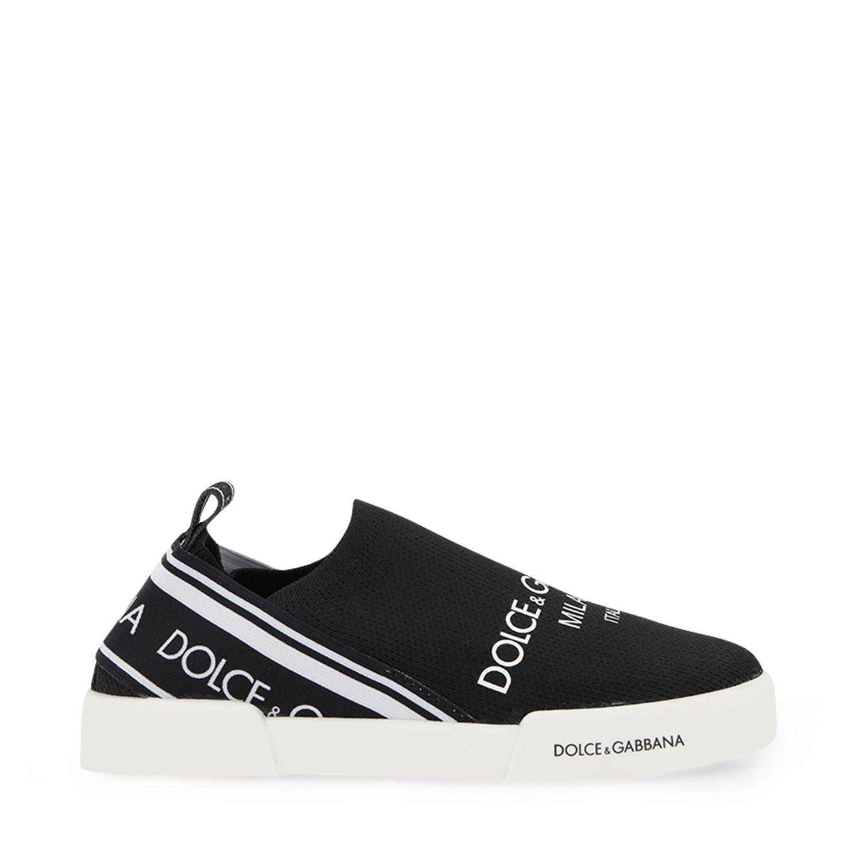 Picture of Dolce & Gabbana DA0933 AA660 kids shoes black