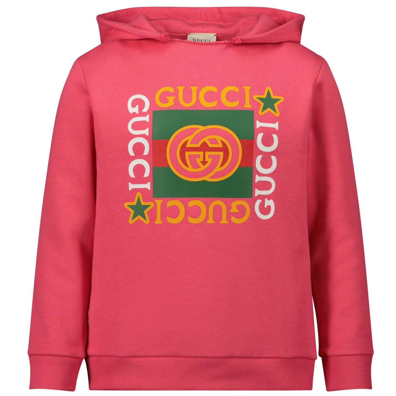 Bild von Gucci 611220 Kinderpullover Pink