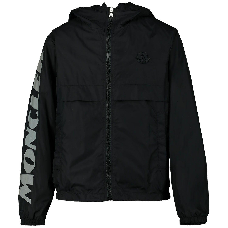 Picture of Moncler 1A72320 kids jacket black