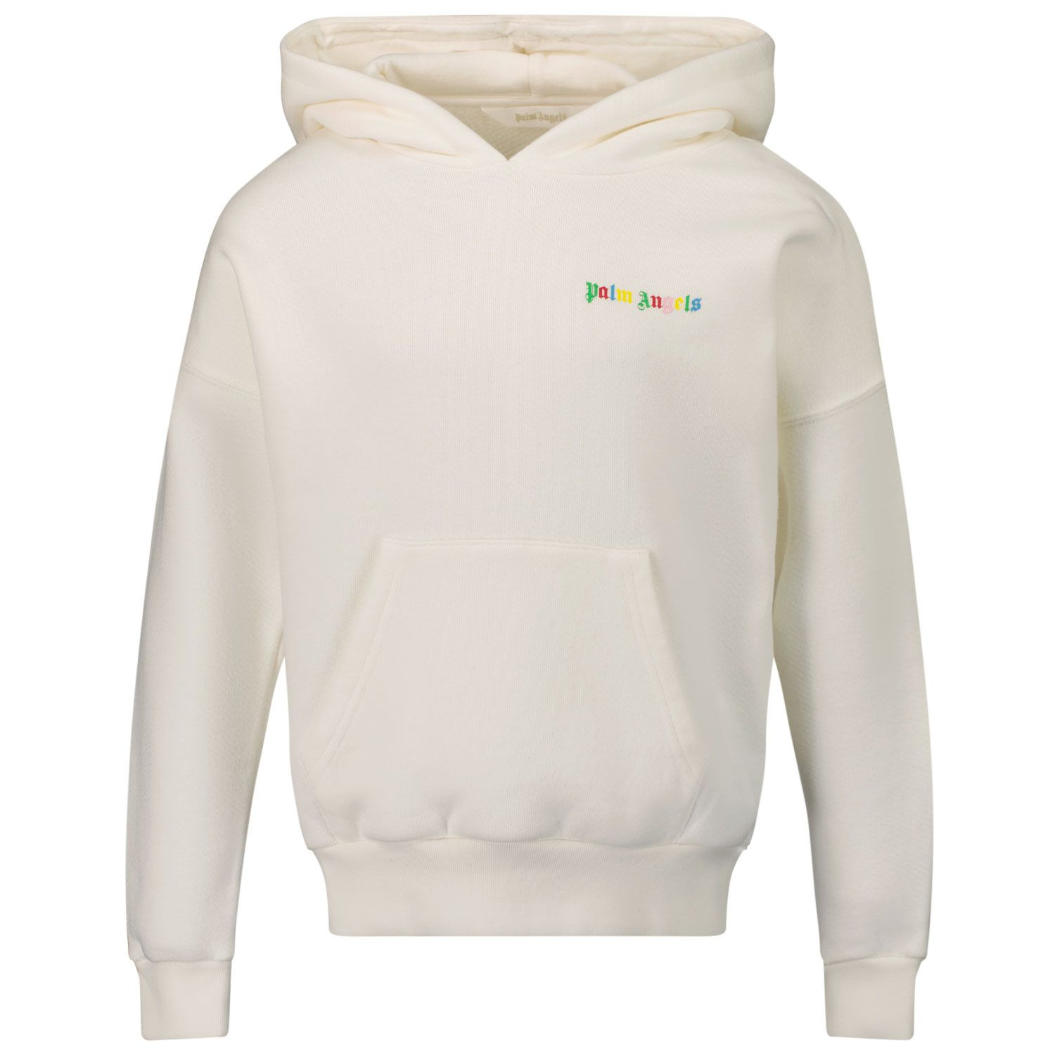 Picture of Palm Angels PBBB002F21FLE001 kids sweater white