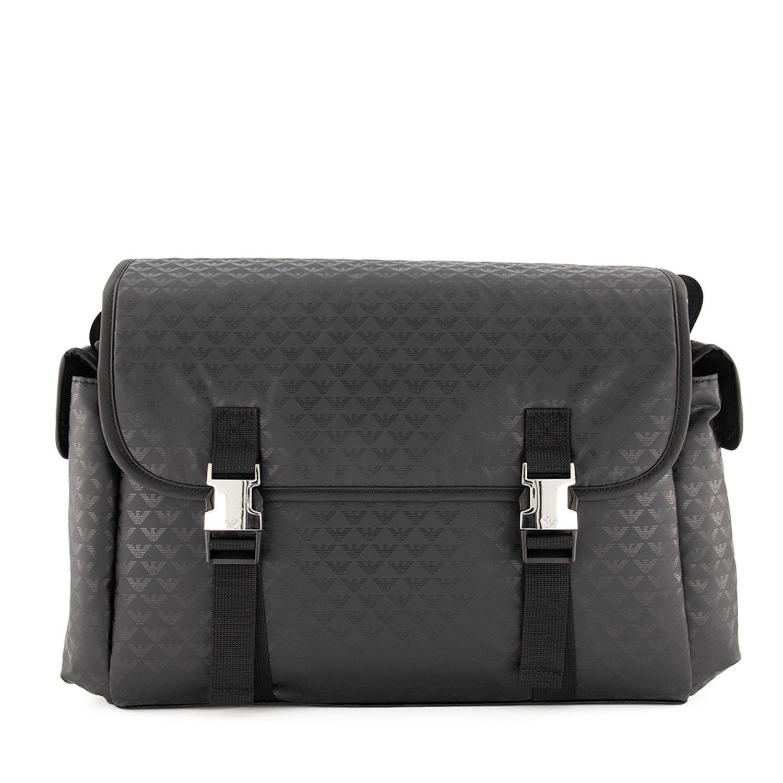 Picture of Armani 402149 diaper bags black