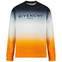 Picture of Givenchy H25243 kids sweater orange