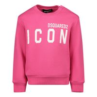 Picture of Dsquared2 DQ04DE D002Y baby sweater fuchsia