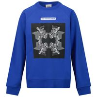Picture of Burberry 8041226 kids sweater cobalt blue