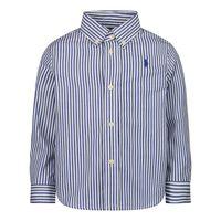 Picture of Ralph Lauren 850922 baby blouse navy