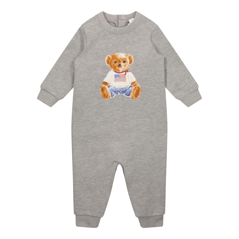 Bild von Ralph Lauren 320850995 Babystrampelanzug Grau