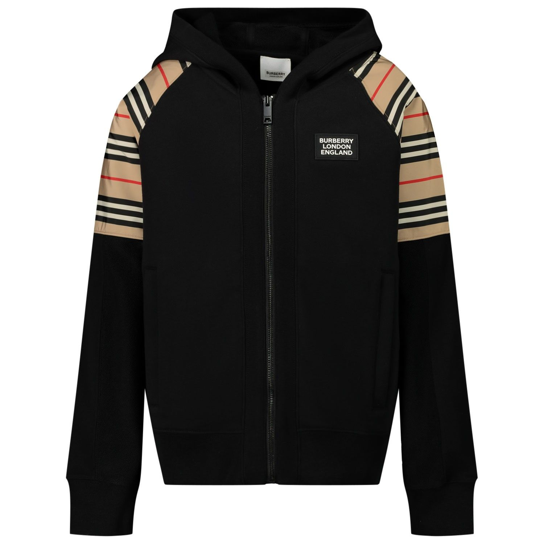 Picture of Burberry 8031660 kids vest black