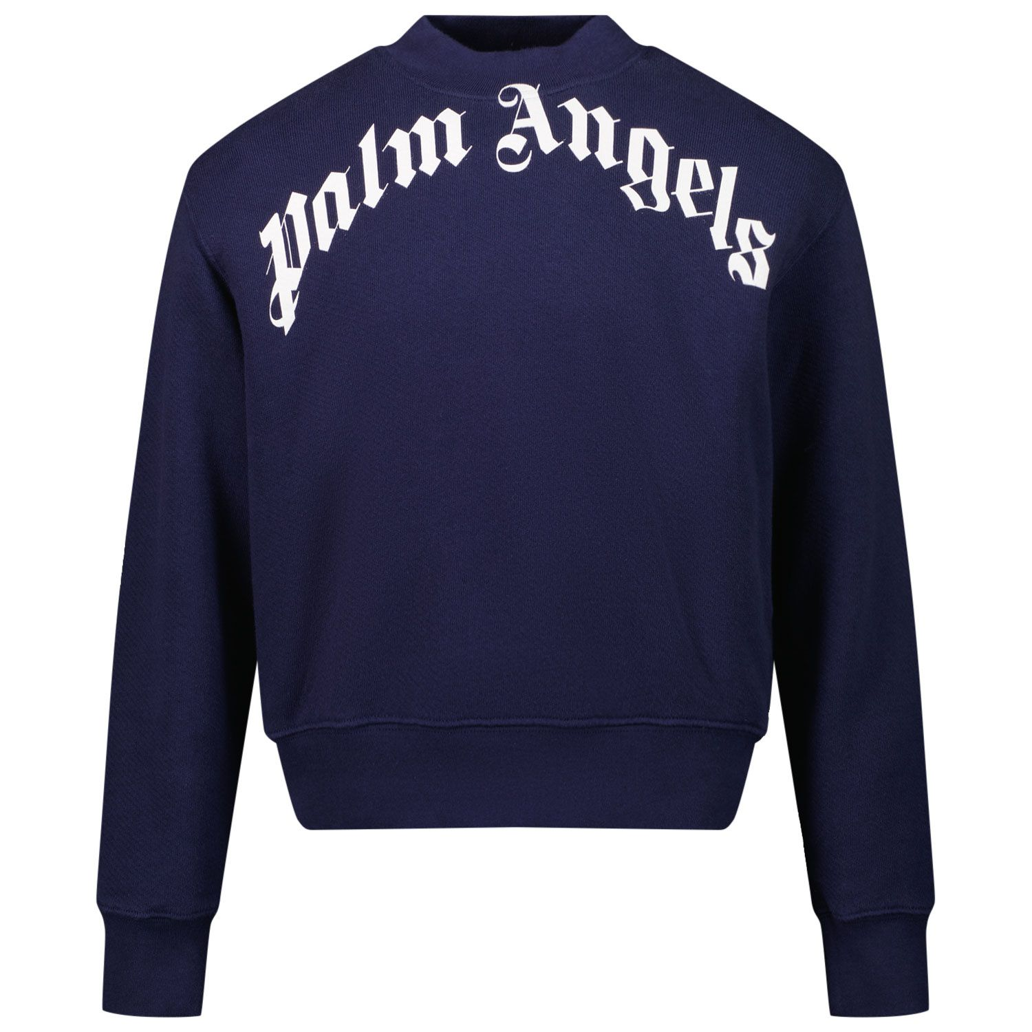 Picture of Palm Angels PBBA002F21FLE001 kids sweater navy