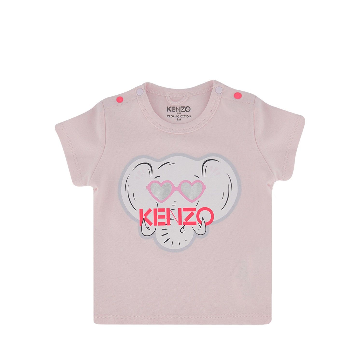Picture of Kenzo 10003 baby shirt light pink