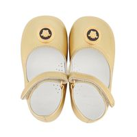 Picture of Versace YFF00059 baby shoes gold