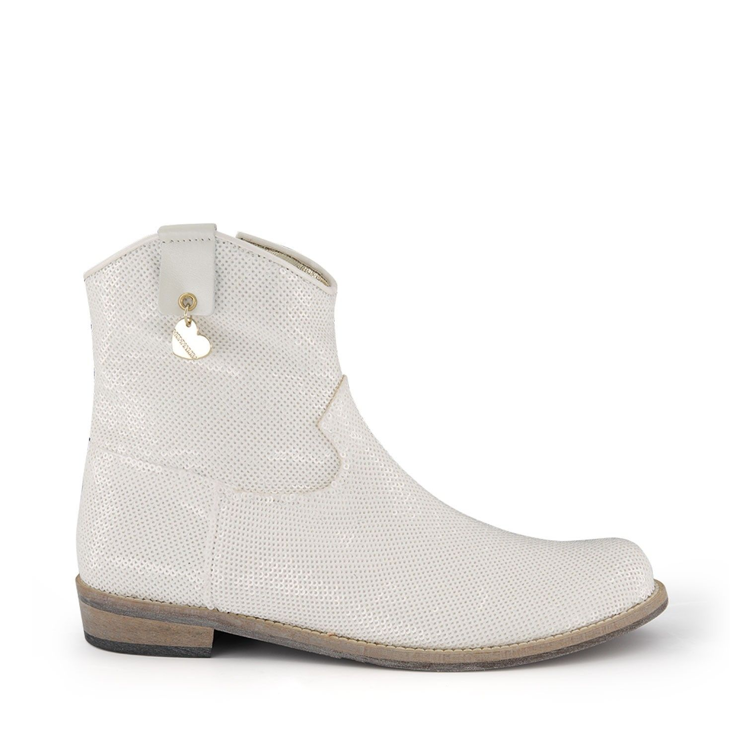 Picture of MonnaLisa 875004 kids boots white