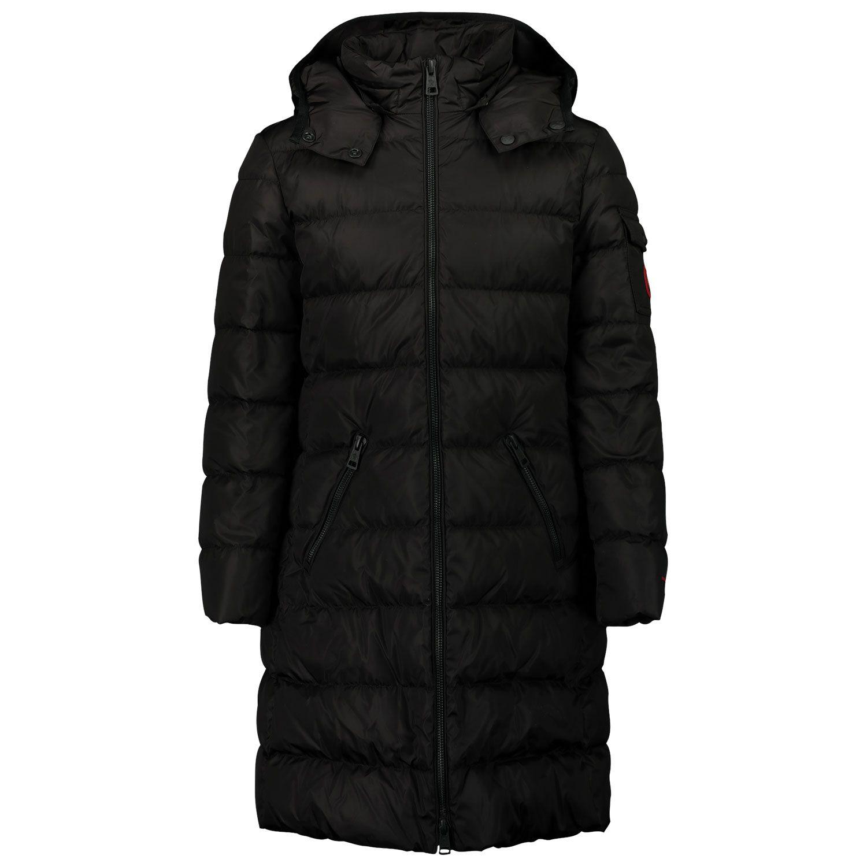 Picture of Moncler 1C52910 kids jacket black