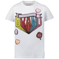 Afbeelding van My Brand 001A0017 kinder t-shirt wit