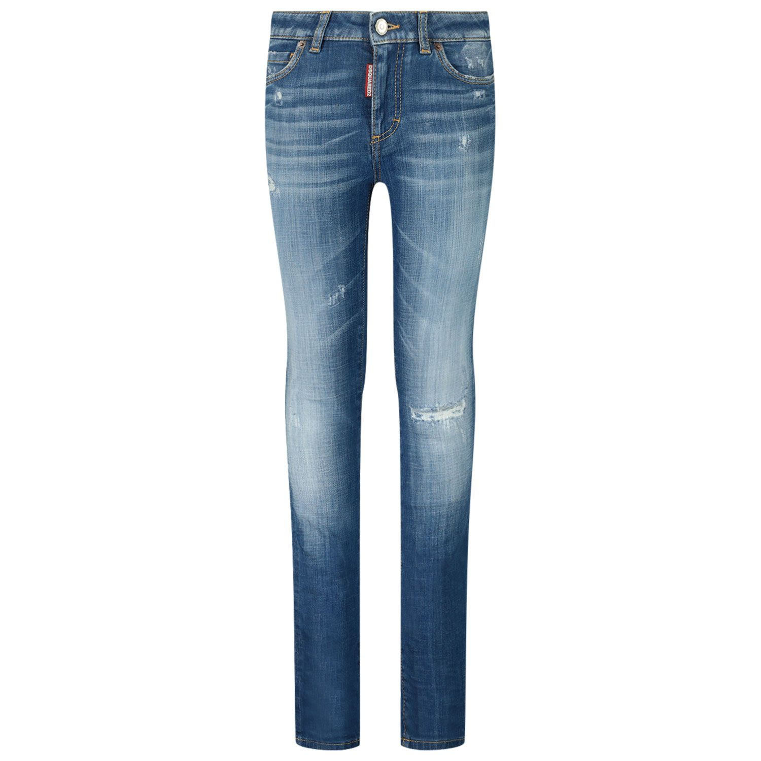 Picture of Dsquared2 DQ01DX D005H kids jeans jeans