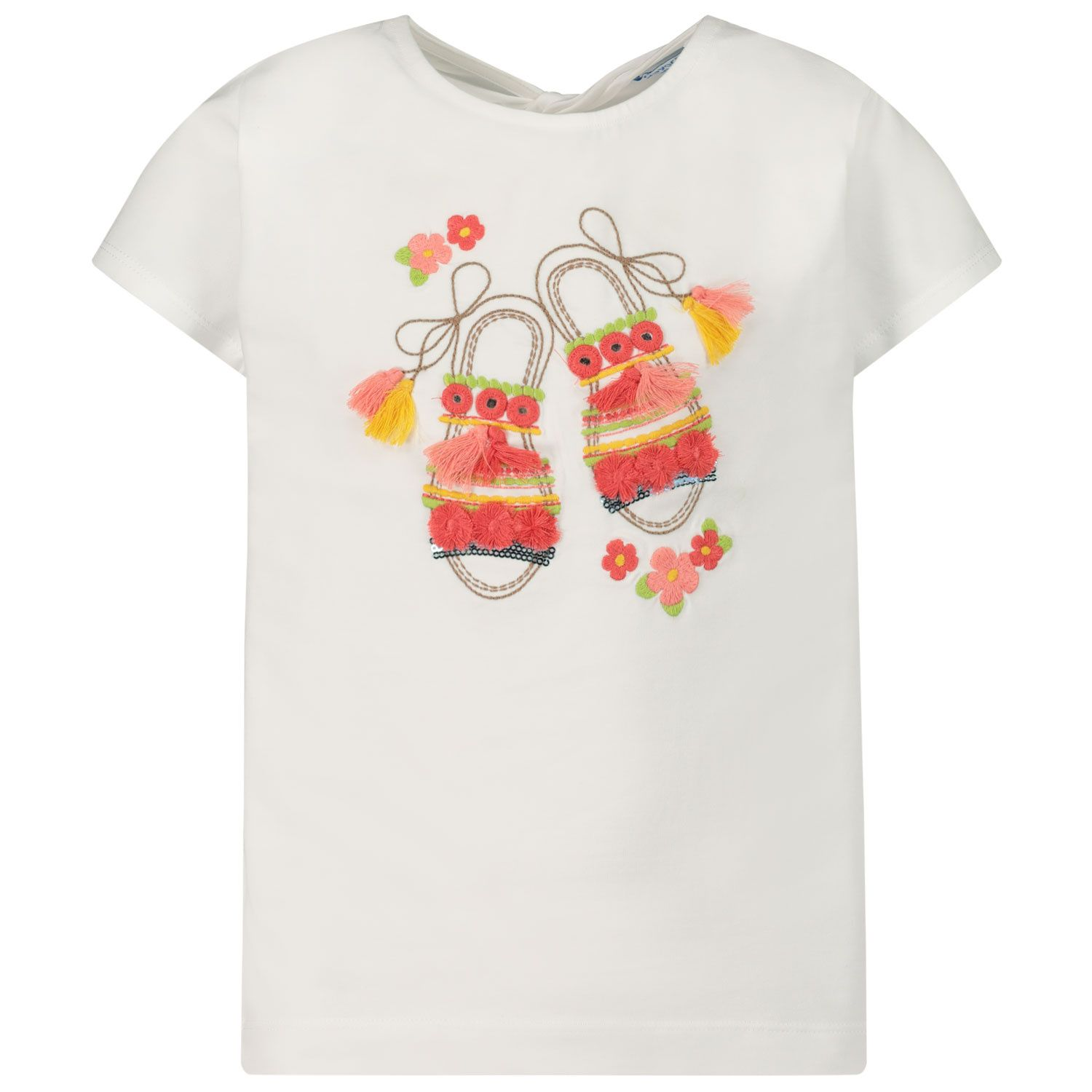 Picture of Mayoral 3014 kids t-shirt white