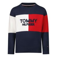 Picture of Tommy Hilfiger KB0KB06375 B baby sweater navy