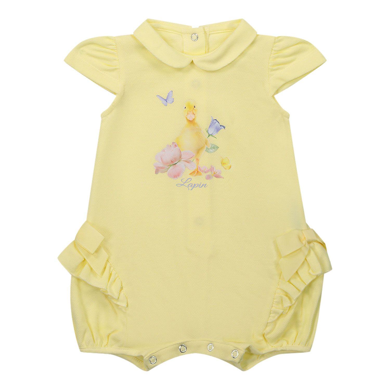 Bild von Lapin 211E5195 Babystrampelanzug Gelb