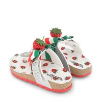 Picture of MonnaLisa 8C7014 kids flipflops red