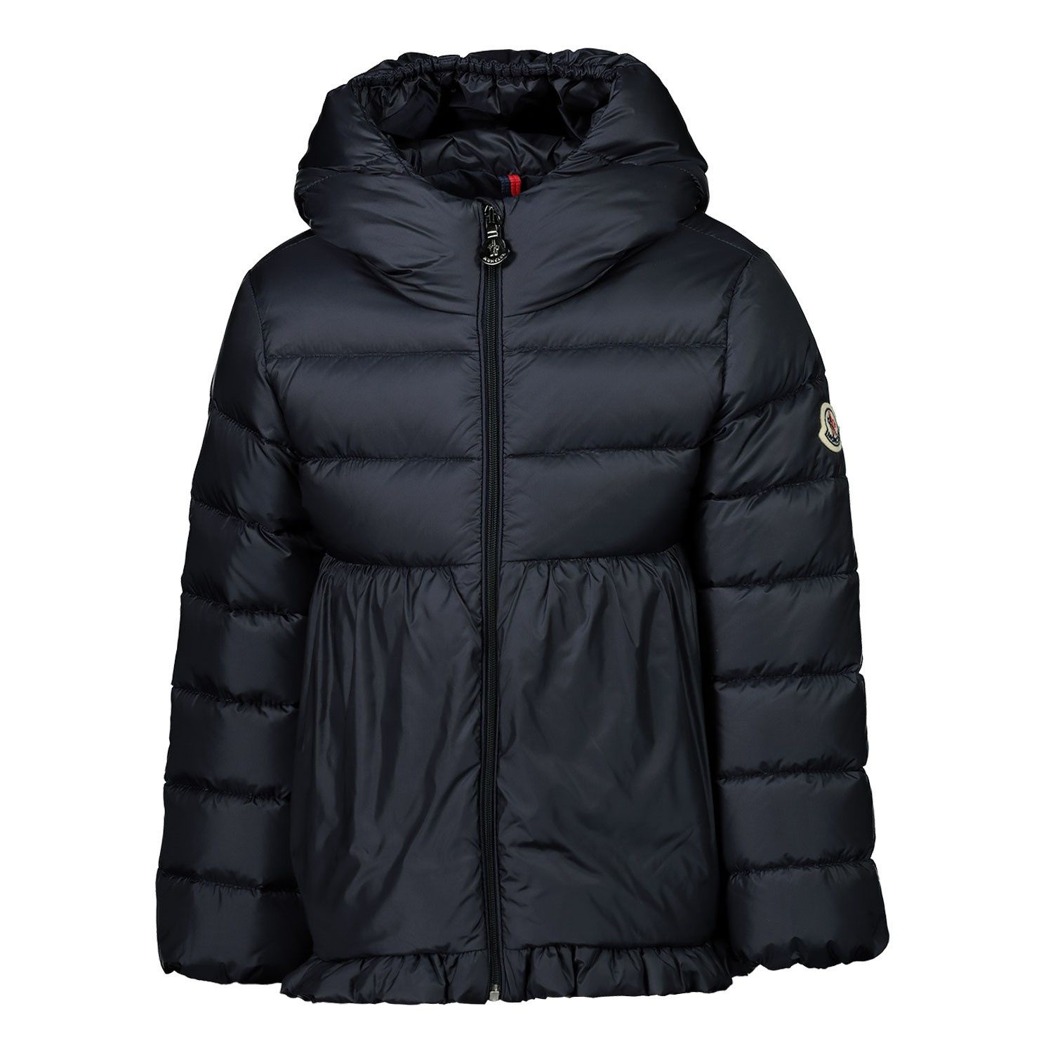 Picture of Moncler 1A53010 baby coat navy