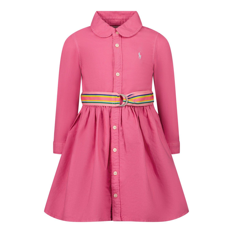 Afbeelding van Ralph Lauren 310835211 babyjurkje roze