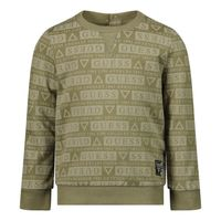 Picture of Guess NiYQ00 baby sweater army