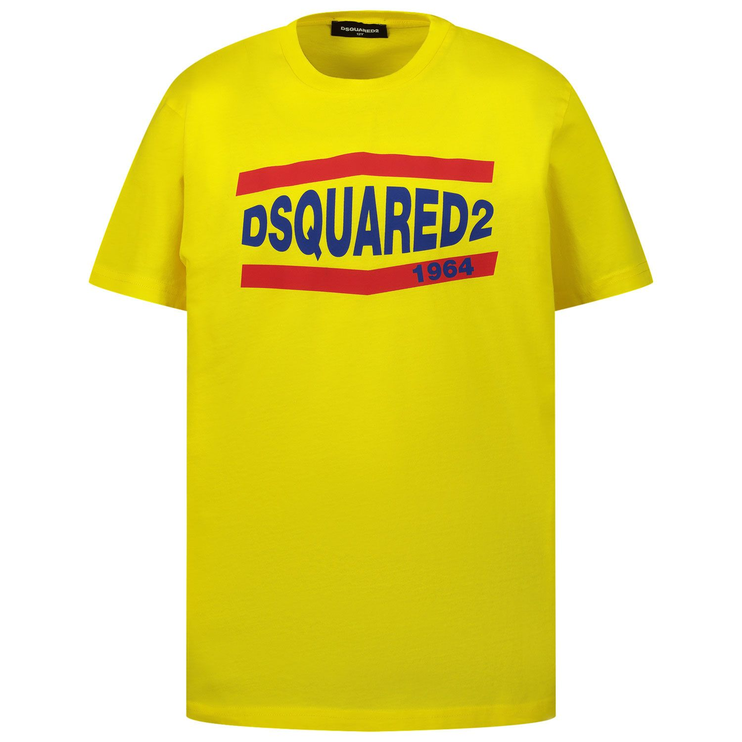 Picture of Dsquared2 DQ0150 kids t-shirt yellow