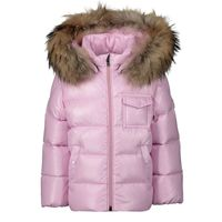 Picture of Moncler 4198725 baby coat light pink