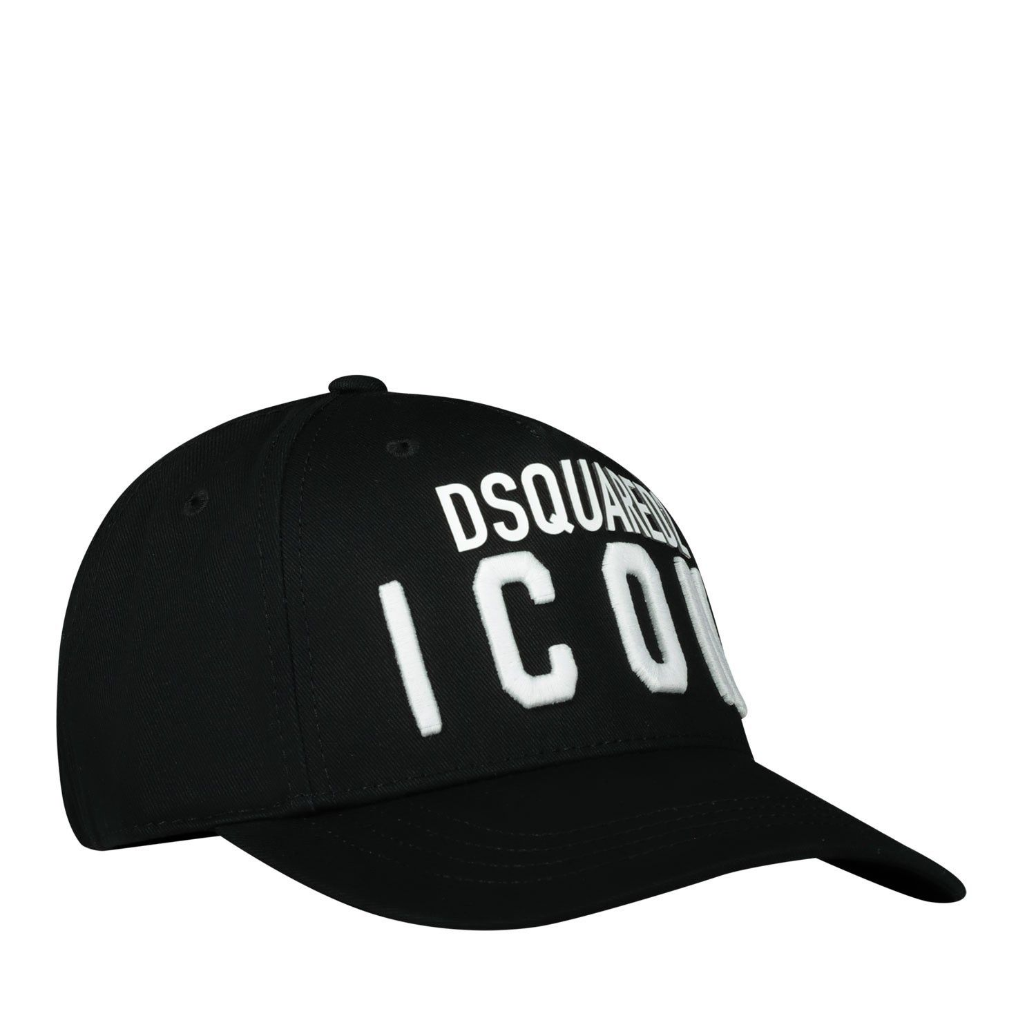 Picture of Dsquared2 DQ04F6 baby hat black