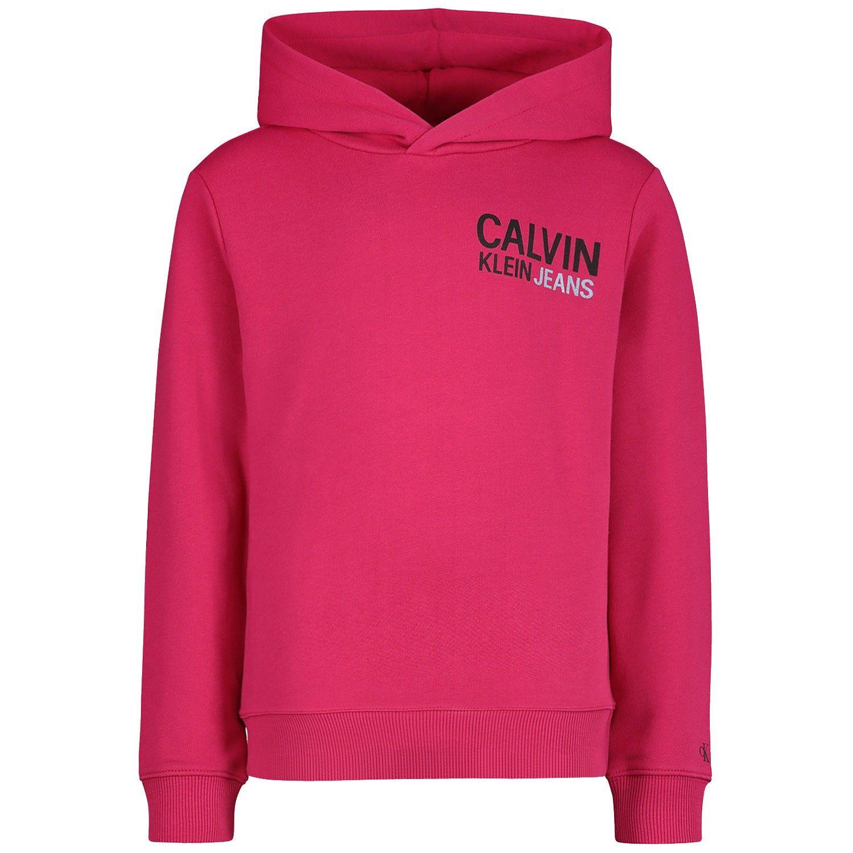 Picture of Calvin Klein IG0IG00435 kids sweater fuchsia