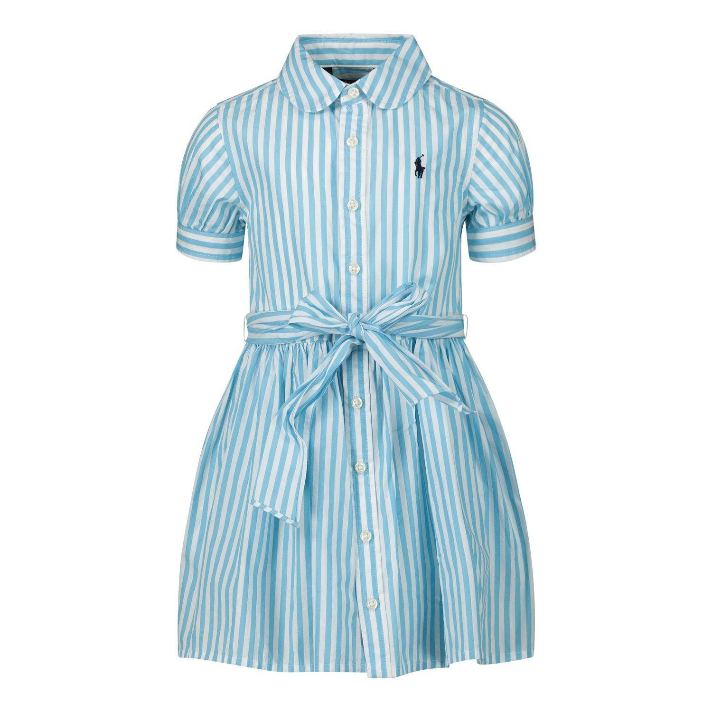 Picture of Ralph Lauren 795601 kids dress turquoise